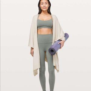Lululemon | Free To Coast Wrap open back sweater